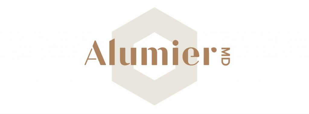 Alumier logo skincare skin cosmetics london