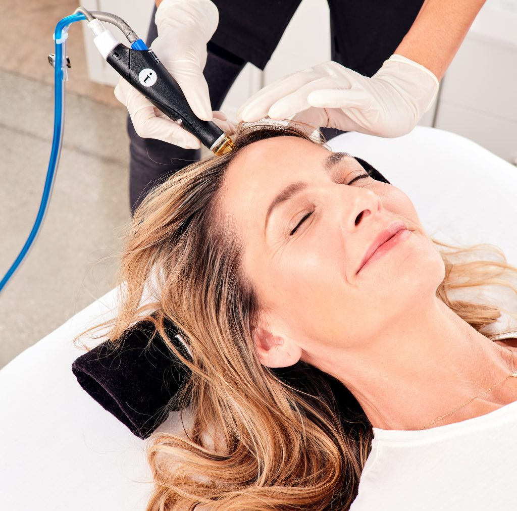 hydrafacial keravive scalp health skin cosmetics london