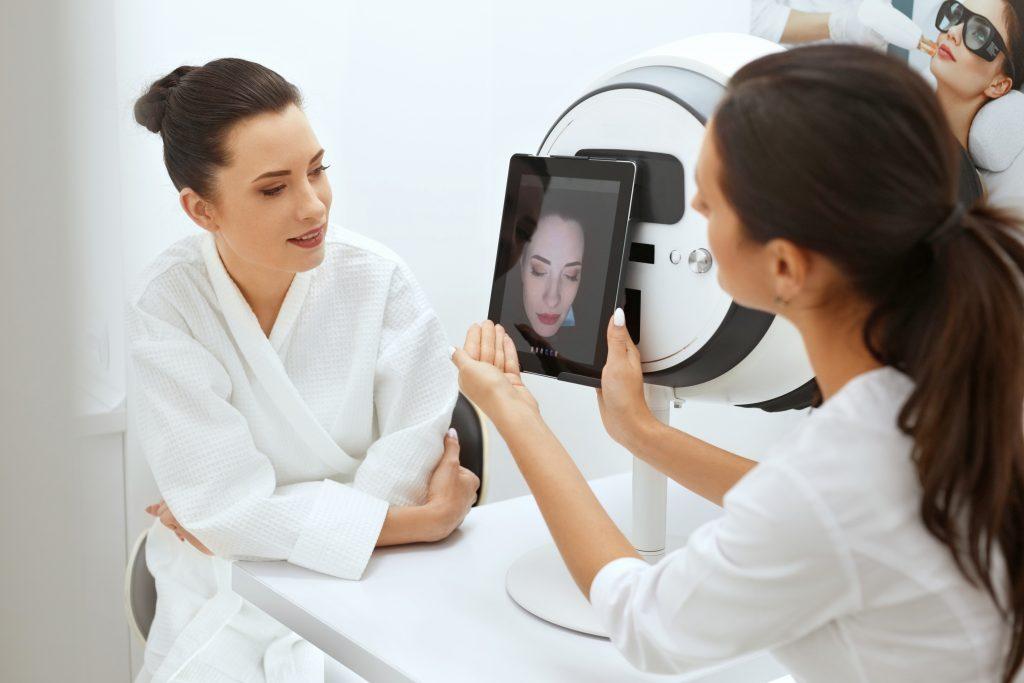 skin analysis at skin cosmetics london