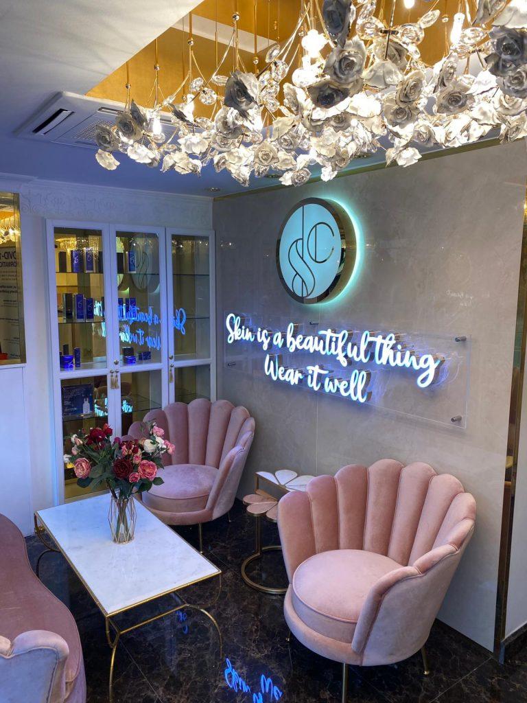 skin cosmetics london lounge
