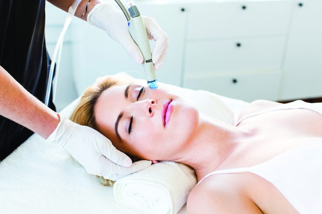 skin cosmetics london hydrafacial treatment picture