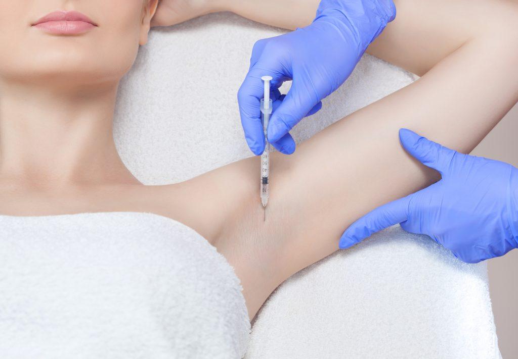 HYPERHIDROSIS skin cosmetics london underarms